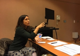 Marcela Echeverri, Assistant Professor of History and MacMillan Center Research Fellow, organized the conference.