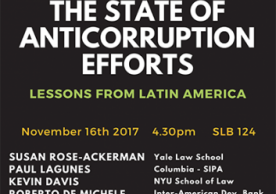 The State of Anticorruption Efforts: Lessons from Latin America