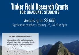 Tinker Field Research Grants