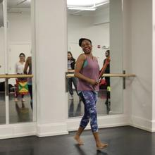 Dr. Adanna Kai Jones, Assistant Professor of Dance at Bowdoin College, leading the first event in the Caribbean Studies Working Group's Spring 2020 Embodied Interventions Series.   Photographs by Teanu Reid, Ph.D. Candidate in African American Studies and History.